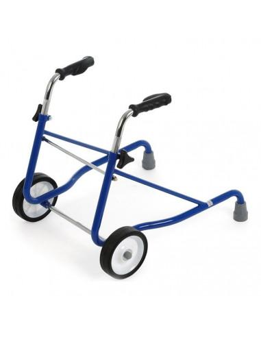 Andador infantil regulable con dos ruedas