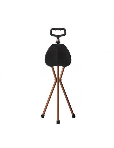 Bastón con asiento plegable  1