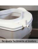 Elevador económico para wc con tapa 1