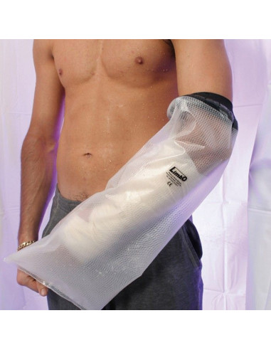 Protector medio brazo impermeable