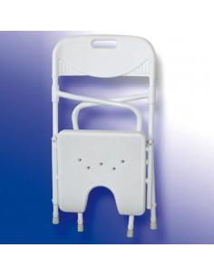 Silla plegable de baño Acuario