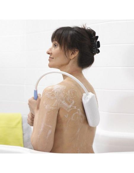 Toallita adaptada para espalda