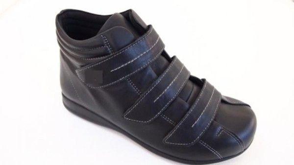 Calzado especial diabético con velcro